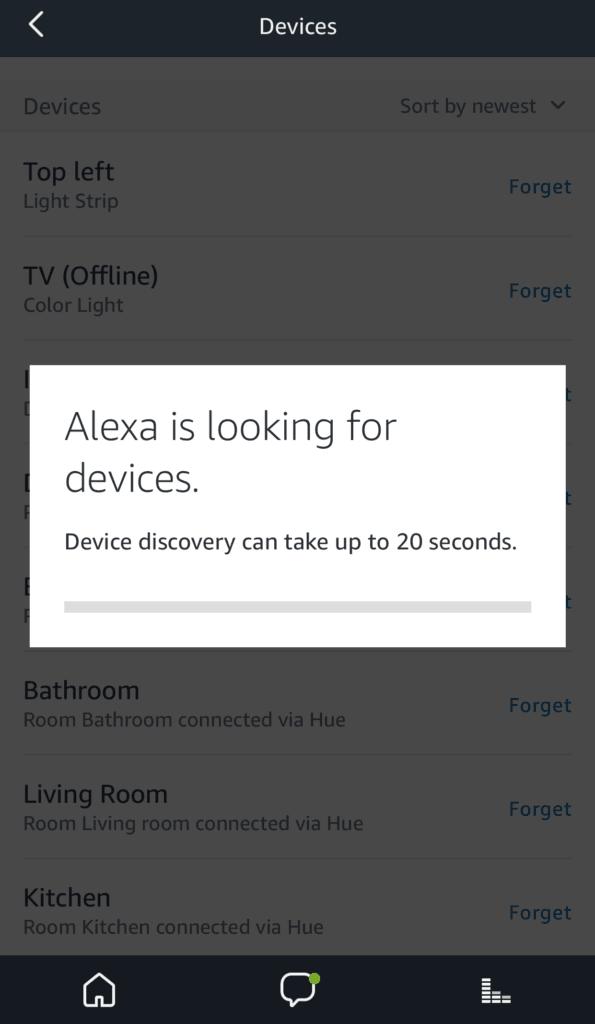 Alexa Discover Devices