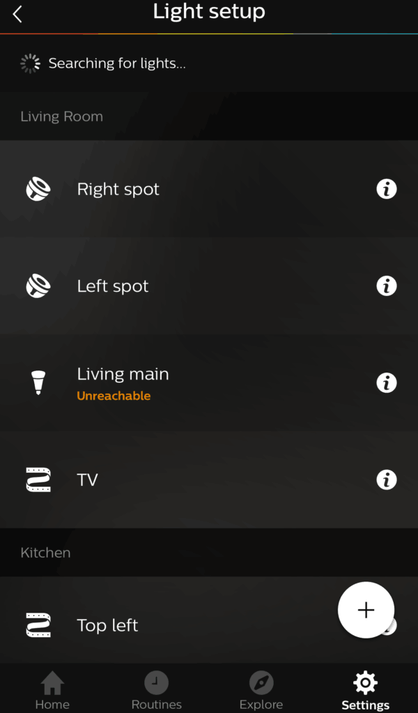 Adding Ikea bulbs to Hue search for light
