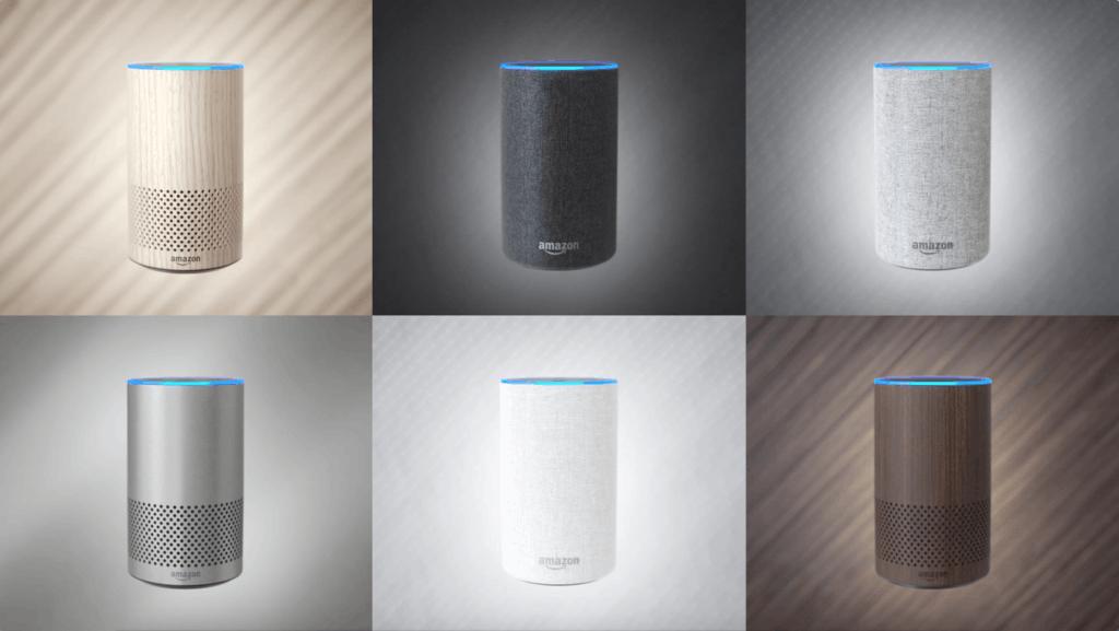 Amazon Echo Colours UK